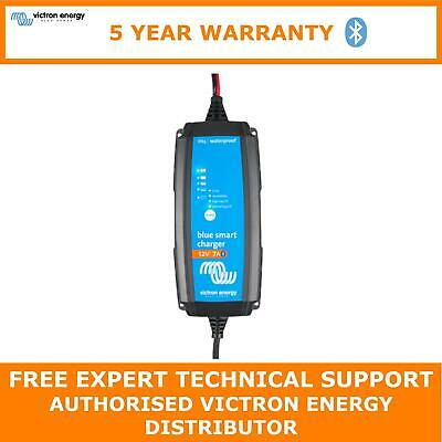 Victron Blue Smart IP65 Trickle Charger For Car & Leisure Batteries 12V 7A