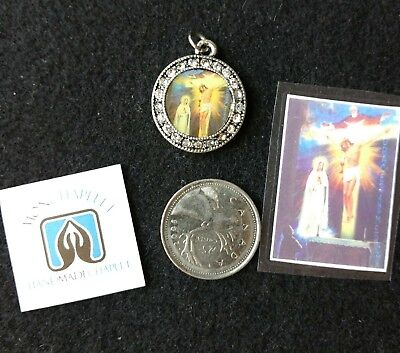 Unique Scapular of the Holy Face Jesus with last vision of Sr.Lucia