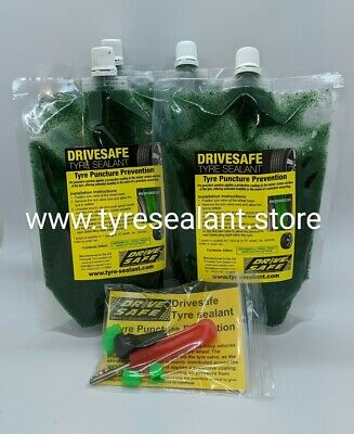 Tyre puncture prevention,4 pouches