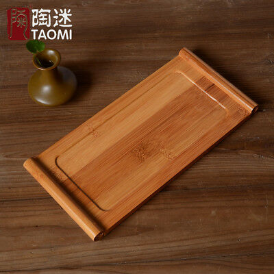 Natural Bamboo Tea Tray Bamboo Puer Tea Board Table Bamboo Gongfu Tea Tray