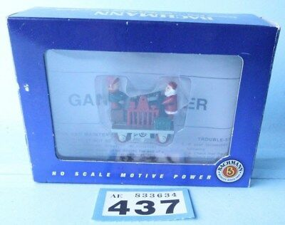 Bachmann Ho Gauge 46210 'gandy Dancer' Operating Hand Car-Christmas Boxed #437B