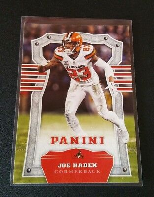 Joe Haden Browns #13 Panini 2017 NFL Football Trading Card