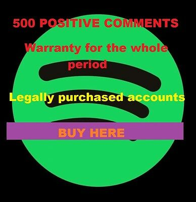 Spotify Premium Account  ! 2 months 60 DAYS LEGAL ACCOUNT NOT FROM HACKERS
