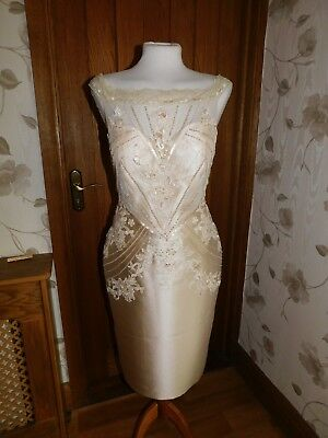 SPECIAL VEROMIA DRESS CODE SIZE 10 MOTHER OF THE BRIDE BRAND NEW amazing WOW