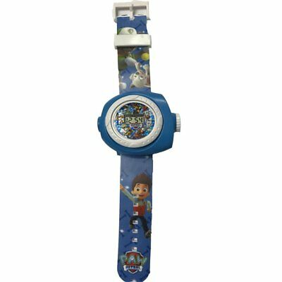 Digital Projection Watch with 20 Different Paw Patrol Images Digital Quartz Blue