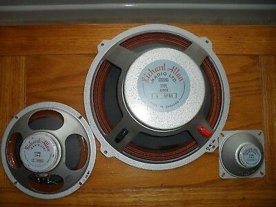 Richard Allen Radio Ltd Speakers (3)