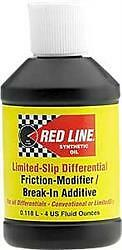 Red Line Oil 80301;Differential Limited Slip Friction Modifier; 4 Ounce Bottle;