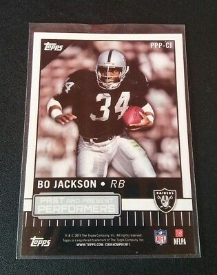 Amari Cooper Bo Jackson Past And Present Performers Raiders Topps 2015 NFL