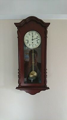 Hermle regulator wall clock with Westminster chimes