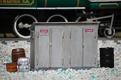 CONSTRUCTION PLANS: Electrical Relay Cabinet O Scale Model Railroad