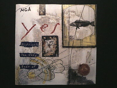 The Very Best of YES - CD with 12 of the Biggest Hits by Rock Group YES