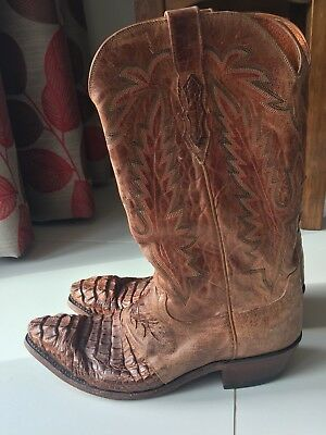Luchesse Authentic Cowboy Boots, Austin Texas