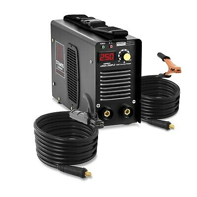 Electrode Welder E Hand MMA Professional Welding Machine 8m Cable IGBT LED 250A