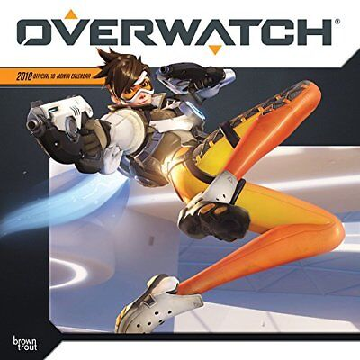 Official Overwatch 2018 Wall Calendar
