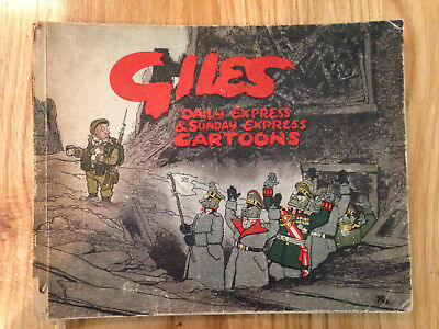 GILES ANNUAL 1, 1st Series - (1946) - Satirical & Political Cartoons - Unclipped