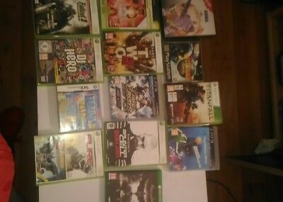 lot jeu xbox 360 one ds ps3 ps1 batman master system