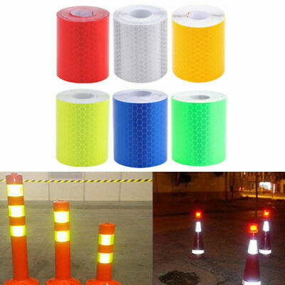 3m Car Truck Reflective Safety Warning Self Adhesive Tape Film Sticker Traffic