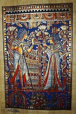 Egyptian Hand-painted Papyrus