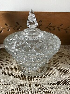 Antique Candy Dish with Lid