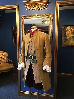 "Really Amazing Men's Pirate""18th Century Style Court Coat, Fantastic Detailing!!"