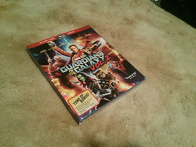 Guardians of the Galaxy Vol. 2 (Blu-ray/DVD, Includes Digital Copy) brand new