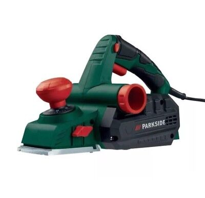 Parkside Electric Planer 750W, Planing width 82mm, Rotation speed: 13000 min