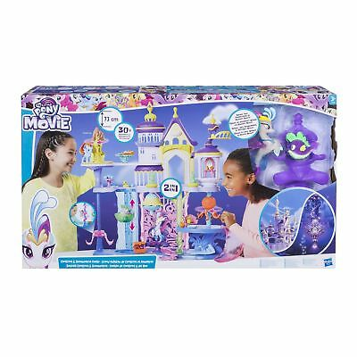 My Little Pony The Movie Canterlot And Seaquestria Castle From Debenhams