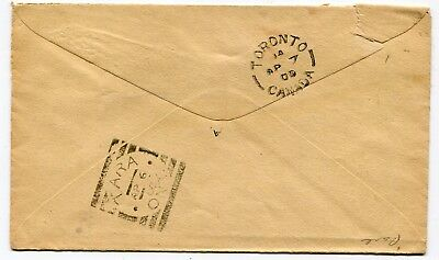 Canada ONT Ontario - Tara 1900 Squared Circle Backstamp on Cover from KEADY