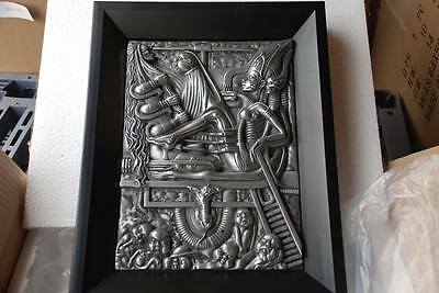H.R. Giger Goggle Baby Figur figure statue Wandbehang wall hanging 09