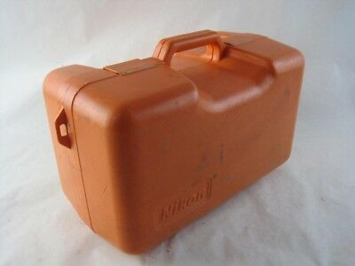 Nikon NE-20S 20SC Digital Theodolite Orange Hard Rugged Portable Carrying Case