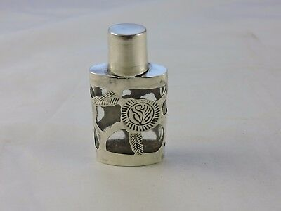 Sterling Silver Overlay Cologne Mexico