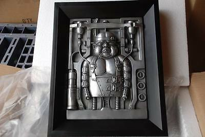 H.R. Giger Goggle Baby Figur figure statue Wandbehang wall hanging 06