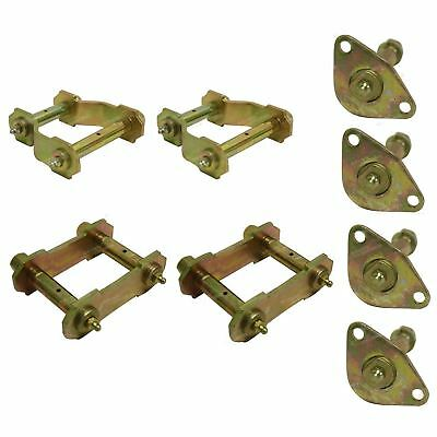 Toyota HILUX Greasable Swing Shackle x 4 + Pins x 4