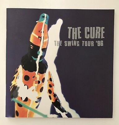 THE CURE SWING TOUR '96 Program Booklet 1996 Robert Smith Alternative band goth
