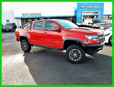 2018 Chevrolet Colorado ZR2 2018 ZR2 New Turbo 2.8L I4 16V Automatic 4WD Pickup Truck Bose Premium OnStar