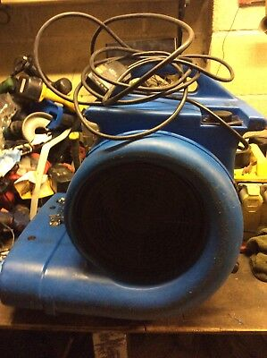Air mover, Good condition, blower, fan, snail type dryer. 3spd 2700 cfm