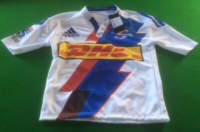 Stormers  Adidas Bnwt Rugby Shirt Adults Small Jersey Top