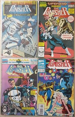 The Punisher Vol 1 Annual #1 3 4 6 Marvel Comics, 1988 1990 1991 1993 Daredevil