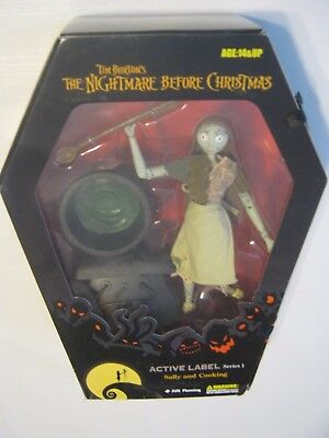 "Jun Planning Nightmare Before Christmas 8"" Sally And Cooking Series 1 Figure Set"