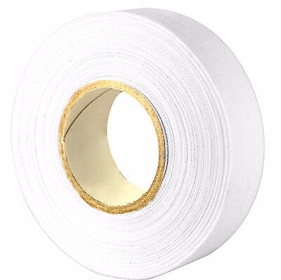 "Mic Mac Hockey 3 White Cloth Hockey Tape 1 X 30 yrds ""Free Shipping"""