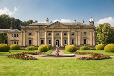 One night stay at Wortley Hall August