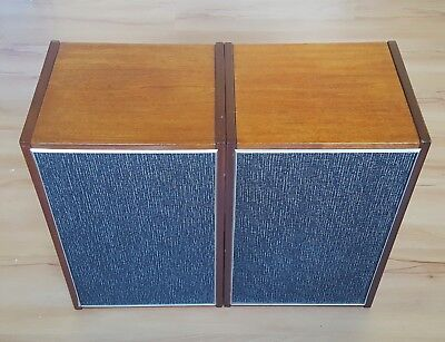 Russian Vintage Wooden Type 10 Mac-1 USSR Bookshelf Speakers - Tested & Working