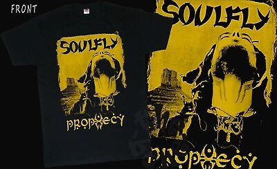 SOULFLY-Prophecy-Groove metal, Thrash metal-Sepultura, T_shirt-sizes:S to 7XL