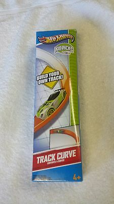 Hot Wheels Kid Picks Track Curve Pack Set F