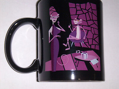 Shag Josh Agle Pink Panther coffee mug cup new masquerade woman