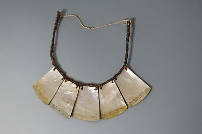 Fine Old Ifagao Tribal shell necklace