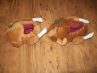Next turkey Xmas slippers