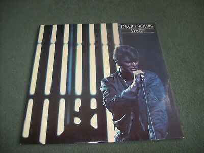 David Bowie - Stage double LP first UK issue from 1978 on RCA Victor PL 02913(2)