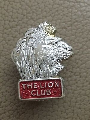 The Lion Club Comic Birthday Pin Badge (see pics)