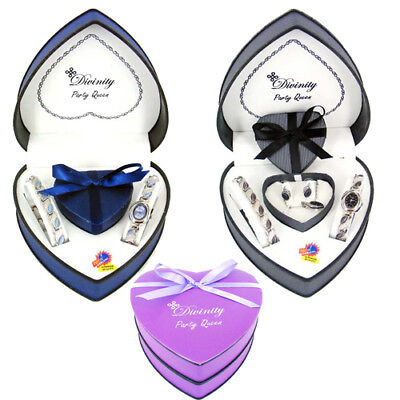 New Ladies/girls Love Gift Set With Watch,earing,necklace And Bracelet